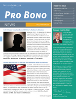 Fall-Winter 2015 Pro Bono News Cover Image